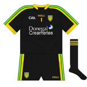 149fe4929ba Goalkeeper Paul Durcan favours an all-black strip and, while the Azzurri  kits he wore were of varied patterns, this time it is in keeping with what  his ...