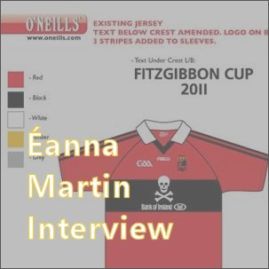 Wexford hurler Éanna Martin designed the UCC jerseys in his time there - we spoke to him about his interest in jerseys.