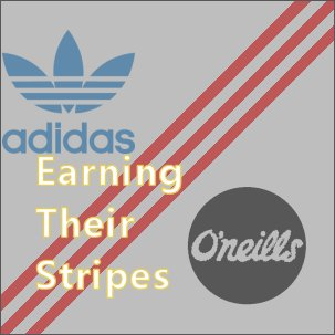 The three-stripe design is synonymous with adidas, but O'Neills use it too - find out how.