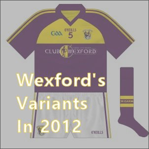 In 2012, Wexford looked to be headed for a traditional style while their underage teams wore a completely different kit. Read the story here.