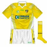 2007: Eventually, Creagh Concrete came on board, leading to a new, cleaner design with aspects of the new crest on the sleeves.