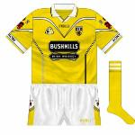 2001: A stock O'Neills design for the new jersey, with black more prominent than it had been.