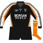 2009-11: Long sleeves, new GAA logo. As the next goalkeeper shirt only came in short sleeves, this was used until 2011.
