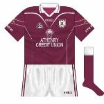 Athenry last won a Galway title in 2004, and again made it to the following March's All-Ireland, losing to James Stephens of Kilkenny. More subtle changes to the jersey, with Athenry Credit Union now sponsoring.