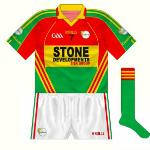 2010-11: The GAA logo reverted in 2010 while the shorts were changed to a plainer style.