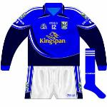 2009: Long-sleeved edition of new jersey worn in 2009, though the GAA logo on it had been repaced.