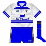 2010:  Change goalkeeper jersey worn for 2010 Division 2 final when outfielders had to line out in blue.