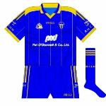 2006:  Short-sleeved jersey, only worn by Davy Fitzgerald in the 2006 league semi-final against Limerick.