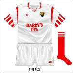 Reversal of new design, worn against Down in the All-Ireland SFC semi-final.