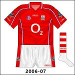 At the start of their three-in-a-row quest in 2006, the Cork hurlers reverted to classically-inspired hooped socks.
