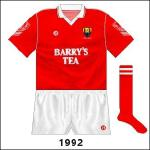 Relaxed sponsorship rules allowed the Barry's logo to be bigger and the shorts returned to a plainer design.