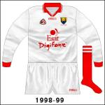 Esat Digifone logo added - while on the change strip it was in the corporate colours, here it was rendered in red.