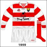 Donal Óg Cusack's championship debut against Waterford in the Munster semi-final saw him in red and white hoops, a design often favoured by Ger Cunningham.