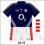 Rare change goalkeeper shirt, used against Armagh in 2010, despite having 2009 anniversary logo.