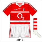 A colour-clash with Down for the 2010 All-Ireland final meant Cork had to wear white, with goalkeeper Alan Quirke donning a reversal of the normal goalkeeper shirt.