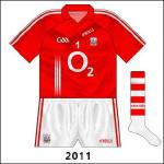 For Cork's All-Ireland qualifier meeting with Down, Alan Quirke wore the regular red jersey, albeit with the numbers in a different font.