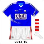 Cork's first football game after the Chill announcement was away to Tyrone, forcing O'Halloran to wear a blue edition of the outfield shirt, and it had more than a few airings.
