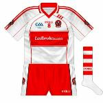 2009: Bookmaking firm Ladbrokes took over as sponsors, necessitating another change in design, with a lot of unnecessary trim details.