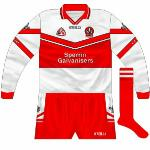 2002-03: Long sleeves for league games, though they were also used in the championship.