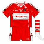 2009-10: Exact reversal of the new shirt, also used early in 2010 despite the 2009 GAA logo being present.