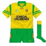 1998: Seemingly only worn in a knockout league game against Offaly, the Tara design was in short-sleeved format.
