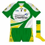 2010-11: New change kit in white, the same as the goalkeeper jersey. Worn against Meath and Antrim in 2011.