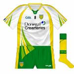 2012: White version of the new strip, successfully worn against Kerry in All-Ireland quarter-finals.