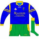2002: Donegal travelled to Roscommon for a league game without a change kit. While the home side changing is more common in the league, the solution here was for Donegal to wear Roscommon's alternative jerseys.