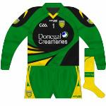 2011: Black version used when Donegal played teams in white.