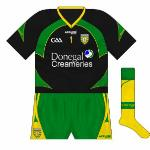 2011: Donegal goalkeeper Paul Durcan began to use another black design during the Ulster championship.