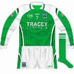2009: The long-sleeved jerseys kept the same style, with the GAA anniversary logo the only change.