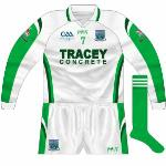 2009: A league meeeting with Meath saw the long sleeves used.