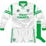 2000: 'Tara' jersey with colours reversed, worn when Fermanagh played Meath in the league at the end of 2000.