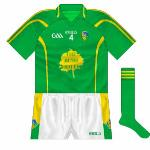 2010: Used during the Allianz GAA Football National League campaign of 2010, this was a nice clean design, though it would have been improved had the lines on the sleeves and torso matched up.