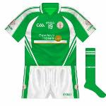 2010-12: A new design to coincide with Bewleys Hotels becoming the new sponsor. Navy was now completely gone.