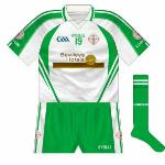 2013: Having had to change to white for games against Leitrim and Mayo, London opted to keep that strip when playing Cavan in Croke Park.