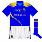 2012-: Brand-new style launched to coincide with the advent of the sponsorship of Glennon Bros, the Longford Arms Hotel departing after 15 years.