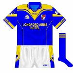 2002-04: Updated jersey, now featuring O'Neills' popular 'Brandon' style.