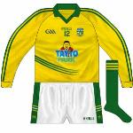2013-: Change shirt worn against Fermanagh in the league. Almost a straight reversal, unlike the home it featured no white trim.