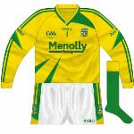 2009: Introduced with new kit, simply a reversal of the colours of the green jersey.