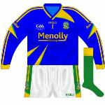 2009: Blue long-sleeved jersey used against Fermanagh in 2009 league.