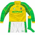 2004: Initially, this was paired with the second edition of the 2004-06 jersey.