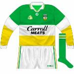 1994-95: Long-sleeved jersey with new GAA logo, in a slightly different colourway to the All-Ireland.