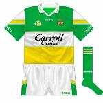 2005-07: Collar updated to O'Neills' new style while a new county crest was introduced.