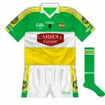 2009: Brand-new design used for 2009 season, featuring a modified Carroll Cuisine logo and the GAA's own 125th-anniversary acknowledgement.