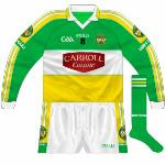 2009-10: Long-sleeved version of new jersey. Only ever used with more simplified GAA logo.