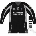 2009: Change to GAA logo on long-sleeved jerseys, though unusually not including the 125th anniversary script.
