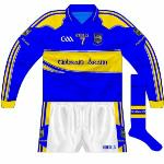 2011: Long-sleeved interim shirt used by footballers in McGrath Cup.