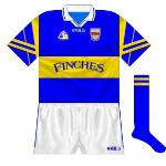 1998 (football): A different shorts style was used by the county football side as they reached the Munster final.