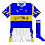 2000: More small alterations as Tipp launched a new crest and it also featured on the new shorts style.